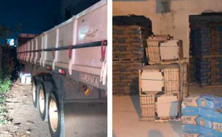 Polícia recupera 32 toneladas de cimento roubadas em Sete Lagoas e impede roubo de aço em Itatiaiuçu