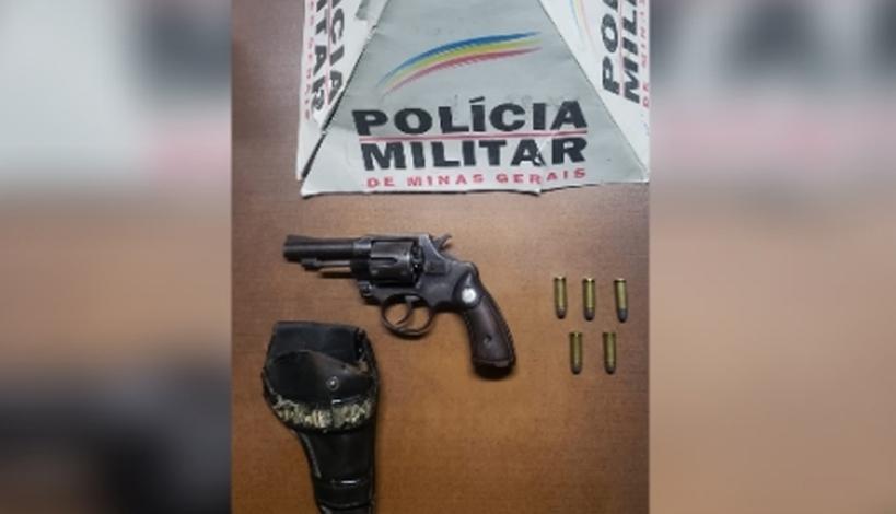 Polícia Militar apreende arma de fogo no bairro Verde Vale em Sete Lagoas