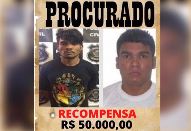 Empresa oferece R$ 50 mil para quem der informações sobre paradeiro de Lázaro Barbosa